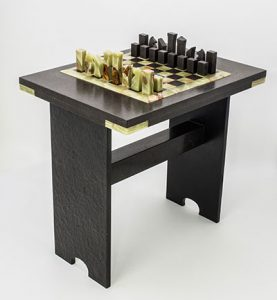 Onyx Chess Table