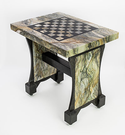 Quartzite Chess Table